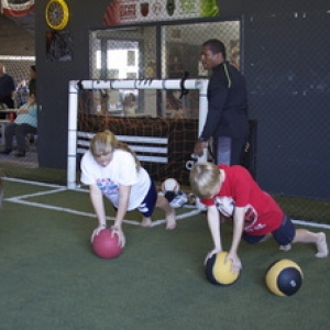 indoor soccer fitness